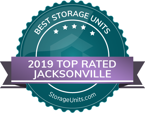 Discount Mini Storage of Jacksonville picked as one of the 2019 Top Rated Storage Units by StorageUnits.com.